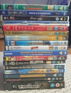 22 DISNEY +more classic DVD Children Family KIDS Paddington mighty ducks mr bean