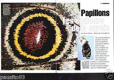 Coupure de presse Clipping 1996 GEO : Papillons les couleurs de la vie (9 pages)