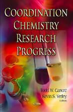 Coordination Chemistry Research Progress - New Book Arunachalam Lakshmanan