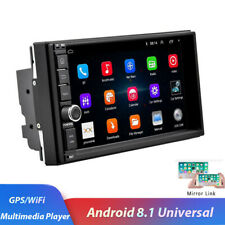 """7"""" 1080P Android 8.1 Car Stereo Radio GPS Wifi Mirror Link Touch Screen Car MP5"""
