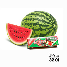 Juicy Jay's Watermelon Flavored 1 1/4 Size Rolling Papers 32ct, Raw, Elements