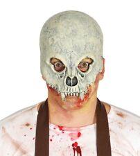 Maschera a metà viso da scheletro animale in lattice
