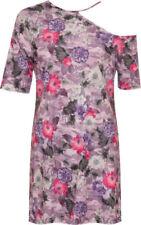 Vestiti da donna viola floreale Taglia 42
