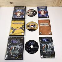 Lot of 3 Star Wars Jedi Starfighter - Racer Revenge - Force PlayStation 2, PS2
