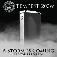 Council of Vapor Tempest | 200W TC Mod | Unique Gun Style Battery Clip | GENUINE