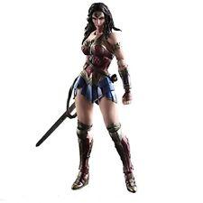 Batman v Superman: Dawn of Justice Play Arts Kai Wonder Woman Figure NEW