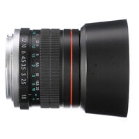 85mm F/1.8 MF Manual Focus Lens for Nikon D810 D800 E D750 D760 D7000 D5300 DSLR