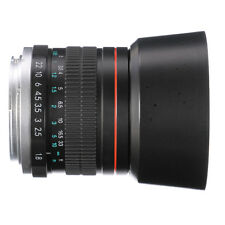 85mm F/1.8 MF Manual Focus Lens Objektiv Für Nikon D810 D800 E D750 D7000 D5300