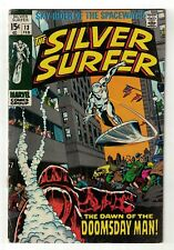 Marvel Comics SILVER SURFER fantastic four 13  VG+ 4.5 1969 doomsday