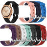For Samsung Gear S2 Classic / Gear Sport Silicone Fitness Wrist Band Strap