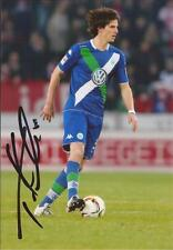 VFL WOLFSBURG: TIMM KLOSE SIGNED 6x4 ACTION PHOTO+COA