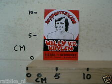 STICKER,DECAL PSV WILLY V.D. KUYLEN NOT 100 % OK