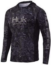 Huk Men's Icon X Camo Hoodie | Long-sleeve Performance Shirt With UPF 30 Sun