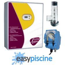 PACK ÉLECTROLYSEUR DE SEL AUTONETTOYANT + POMPE REGULATION pH PISCINE 90 m3