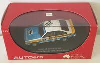 1:43 Biante Model Cars Brock / Brock 1977 Bathurst Holden LX Torana SS A9X #25