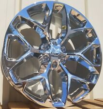 Chrome Chevy Silverado Tahoe GMC Sierra Suburban Cadillac Escalade Wheels Rims