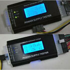 Computer PC Power Supply Tester Checker 20/24 pin 4 SATA HDD ATX BTX Meter GA