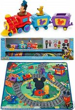Disney Mickey Mouse Train Playmat Play Set ~Disney Store~ Free Priority Ship