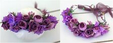 Floral Crown - Flower Wreath - Fairy Halo - Photo Prop - Wedding - Maternity