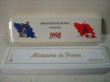 Vintage Miniature De France 10 Parfums 1998 FIFA World Cup.