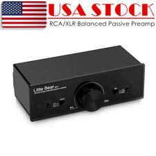 Nobsound XLR/RCA Balanced Passive Preamp Pre-Amplifier Audio Volume Control