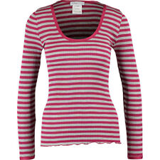FEMME SEVEN Longsleeve Berlin EB Silk Blend Stripes Top BNWT