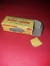 Dinky Toys 182 Porsche 356A only box