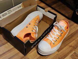 scarpe converse arancione fluo