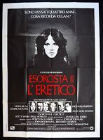 M122 Manifesto 4F EXORZIST EXORCIST L'Heretic John Boorman Linda Blair Richard