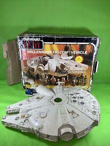 Star Wars Vintage ROTJ.Millenium Falcon Boxed Good Condition Original