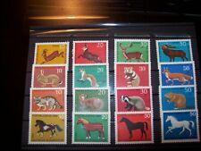 Deutschland  Briefmarken - Jugendmarken Tiere  div. Jahrgänge -
