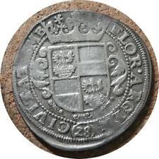 elf Germany Emden Free City 28 Stuber 2/3 Thaler Gulden ND (1624-37)