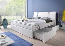 Boxspringbett RivaBox II mit Bettkasten Farbe, Größe und Bettkastenart wählbar
