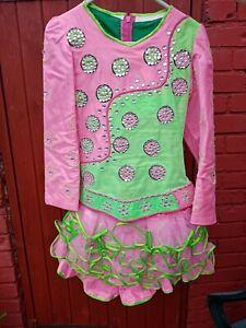 Irish dancing dress age 10 - 12