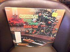 Buddy Cole Christmas Organ & Chimes vinyl LP Pickwick Reords Sealed