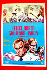 SWEENEY 1977 JOHN THAW  DENNIS WATERMAN BARRY FOSTER UNIQUE EXYU POSTER INSERT