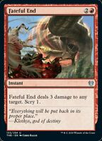 MTG x4 Fateful End Theros Beyond Death Uncommon NM/M