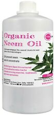 Organic Neem Oil 250ml Cold Pressed Unrefined Pet Plant Horse Insect Repellent