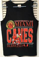 University of Miami Hurricanes Women's Tank Top Size Medium
