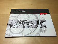 Catalogue CERTINA Collection 2011 + Price List Spain - All Languages