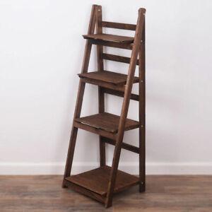 Ladder Shelf Wooden Ladder Bookshelf