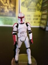 Star wars Clone Commander Devis From the Genonosis Jedi Pack Loose