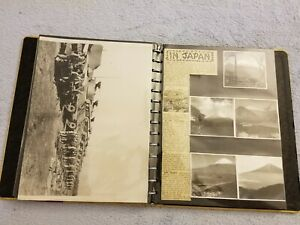 World War II Photo Album - Original Photos - Tanks / Guns / Army / Navy - WWII