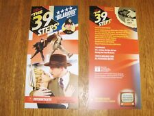 THE 39 STEPS LONDON LEAFLET FLYER PUT WITH TICKETS MAKES A GREAT GIFT