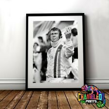 Steve Mcqueen Le Mans A4 A3 Steve Mcqueen Posters