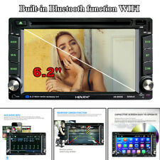 "6.2"" 2 Din Car Touch Screen MP5 Player Stereo Radio GPS FM BT Mirror Link Wifi"