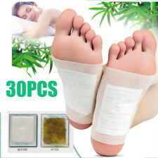 30Pcs Kinoki Detox Foot Pads Patch Detoxify Toxins Adhesive Help Sleep Keep Fit