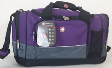 SWISS GEAR Large Duffle Bag *Purple *Gym Bag *SA9000