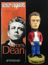 BOSLEY BOBBERS JAMES DEAN RED JACKET 2003 RELEASE BOBBLE HEAD BRAND NEW *V RARE*