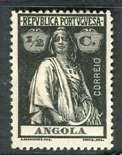 PORTUGUESE ANGOLA;  1914-20s early Ceres issue fine Mint hinged 1/2c. value